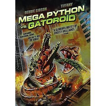 メガ ・ パイソン vs ゲーターロイド 【 DVD 】 米国のインポートします。