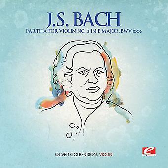J.S. Bach - J.S. Bach: Partita para violín n º 3 en E mayor, importación de Estados Unidos Bwv 1006 [CD]