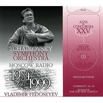 D. Shostakovich - Shostakovitch: Symphony No. 10; Romance for the Film Gadfly [CD] USA import