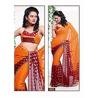 Bhumika Georgette Indian Sari saree Fabric Bellydance