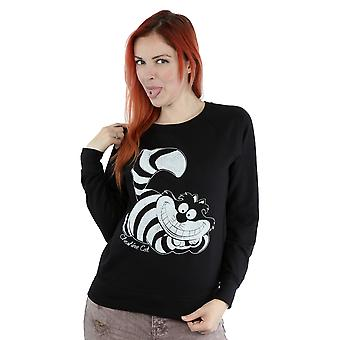 Disney Frauen Alice im Wunderland Mono Grinsekatze Sweatshirt