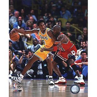 Michael Jordan & Kobe Bryant 1998 Action Sports Photo (8 x 10)