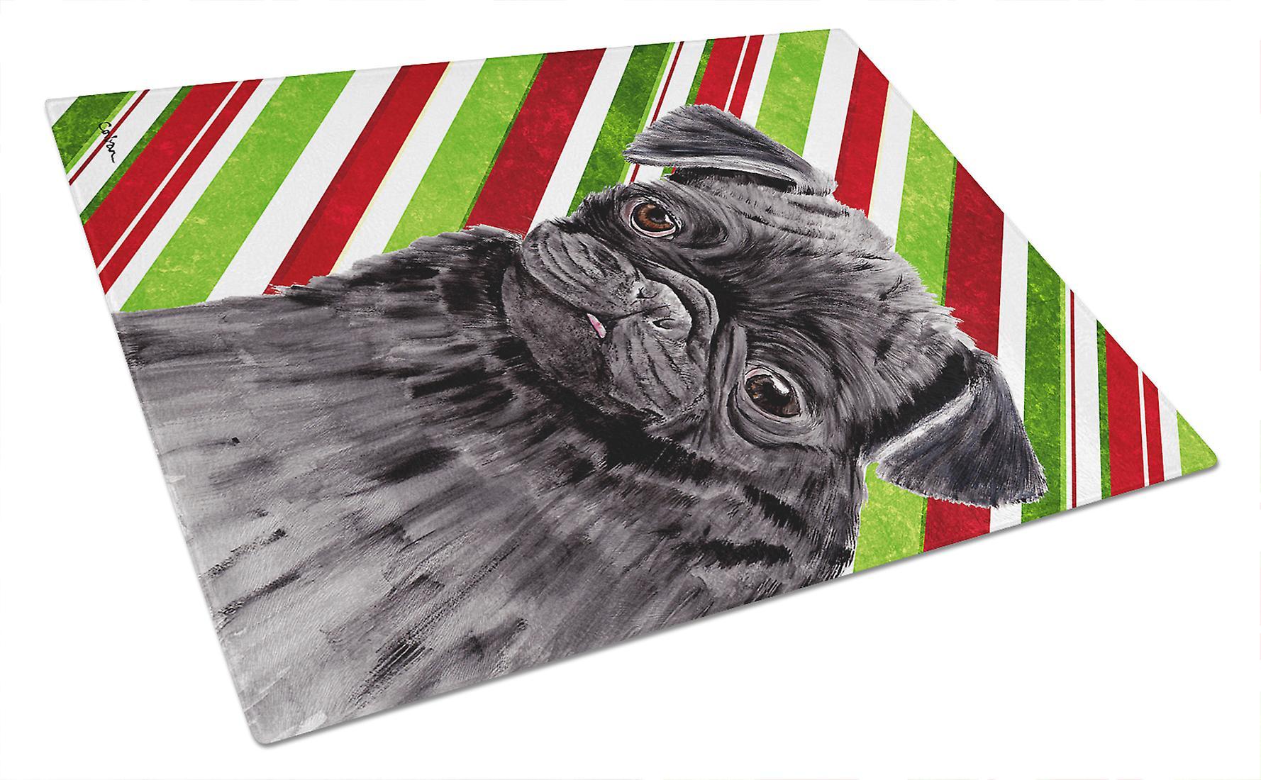 Multicolor Large Carolines Treasures PJC1031LCB Hoot Hoot Hooray Owl Glass Cutting Board