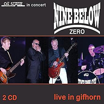 Nine Below Zero - Live at Gifhorn [CD] USA import