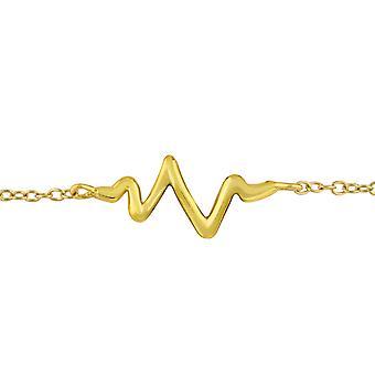 Heartbeat - 925 Sterling Silver Chain Bracelets - W31545X