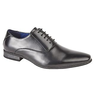 Route 21 Childrens Boys 5 Eyelet Plain Oxford Tie Formal Shoes