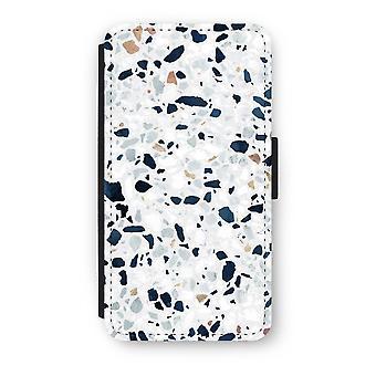 iPhone X フリップ ケース - テラゾー N ° 1