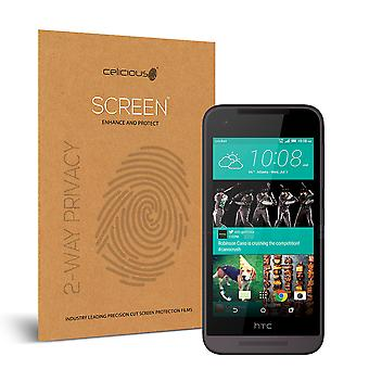 Celicious Privacy 2-Way Anti-Spy Filter Screen Protector Film Compatible with HTC Desire 520
