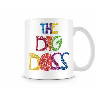 The Big Boss Printed Mug