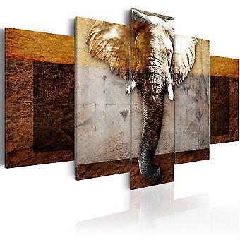 Schilderij - Strength of Africa