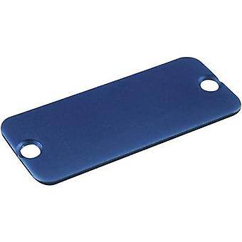 End cover Aluminium Blue Hammond Electronics 1455NALBU-10 1 pc(s)