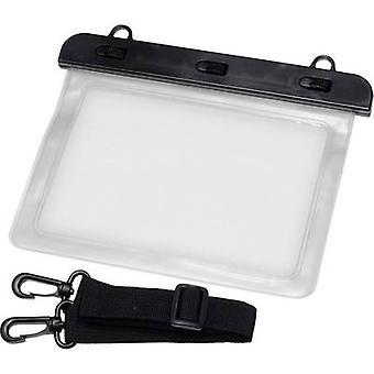 防水バッグ (W × H) 220 mm × 160 mm 黒、透明