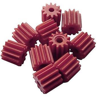 Rollendes Arbeitsplatz-Trainingsmaterial - Kettenräder (x L) 7 mm x 6 mm Modul Typ 0,5 Bohrungsdurchmesser 1,9 mm