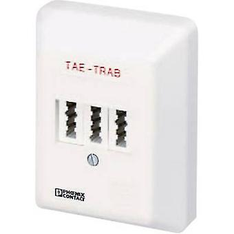 Phoenix Contact TAE TRAB FM-NFN-AP 2749628 Surge suoja socket aalto prtection varten: puhelin/fax (TAE) 5 kA