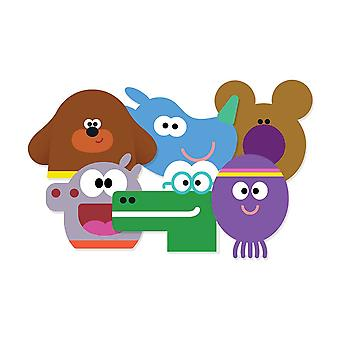 Hey Duggee Card Party Fancy Dress Maskers Variety pack van 6