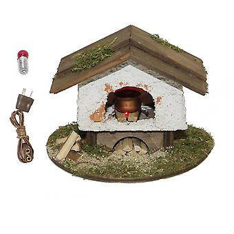 Nativity accessories stable Nativity set bonfires with oven