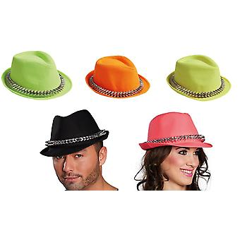 Fedora spines accessories Hat Halloween Carnival rivets new year's Eve