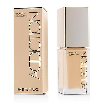 Addiction The Glow Foundation Spf 20 - # 002 (porcelain Rose) - 30ml/1oz