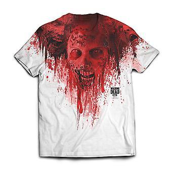 Kävely kuollut t-paita kävelijöiden sublimaatio tulostus