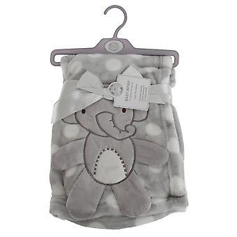 Snuggle Baby Baby Boys/Girls Polka-Dot Elephant Wrap