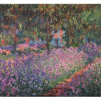 The Artist's Garden at Giverny, Claude Monet, 60x50cm