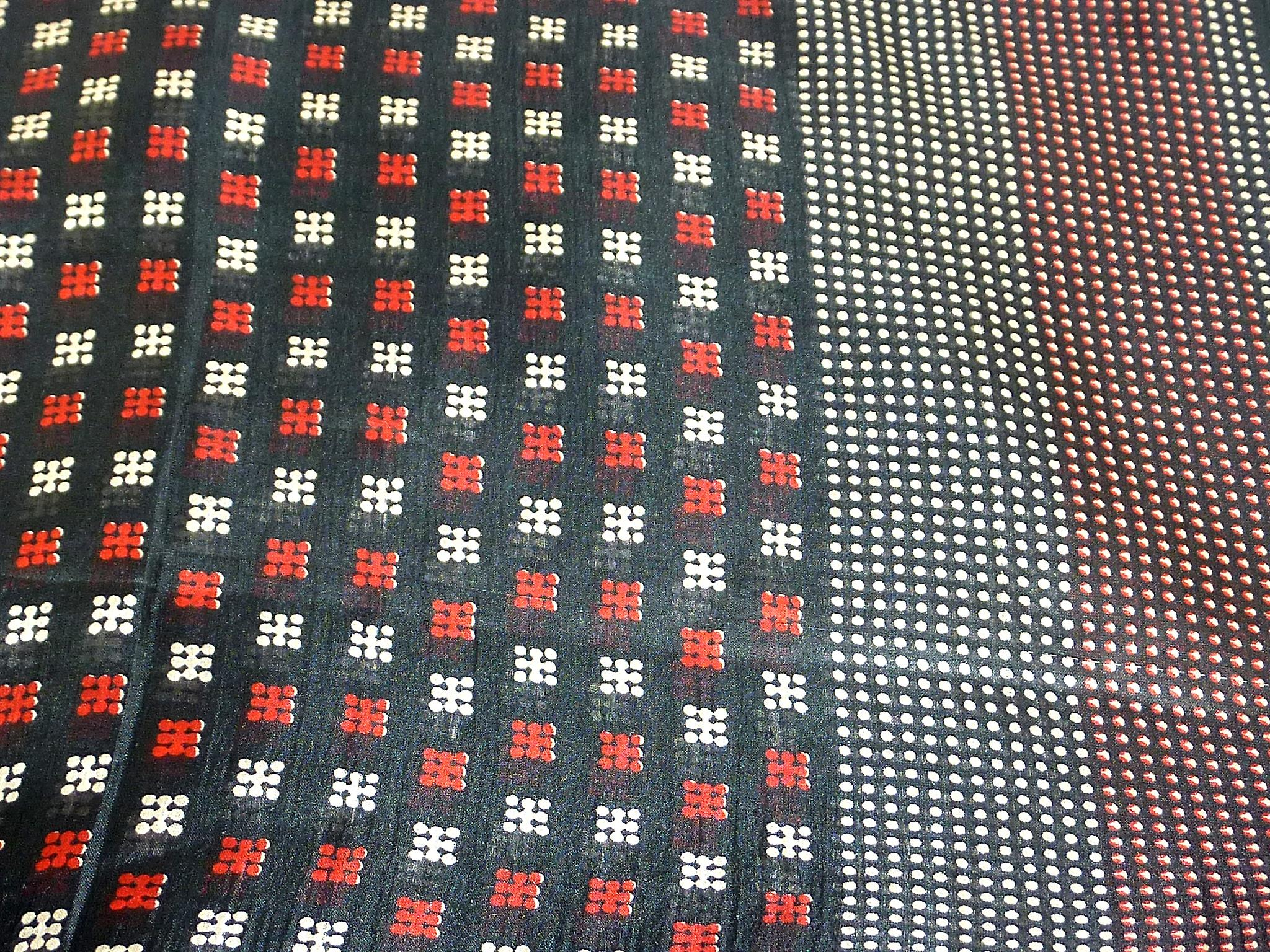 Mulberry Silk Classic Square Scarf Ojal Black & Red by Pashmina & Silk