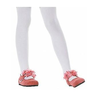 Childs Tights White Age 11-14.