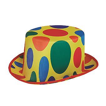 Clown Top Hat Polka Dot