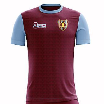 2020-2021 Villa Home Concept Football Shirt - Womens