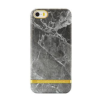 Richmond & Finch shells voor iPhone 5/5s/SE-grijs marmer