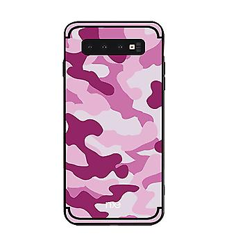 NXE Samsung Galaxy S10 + TPU-shell-camouflage-Rose