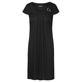 Féraud 3195095-10995 Women's Voyage Black Beach Dress