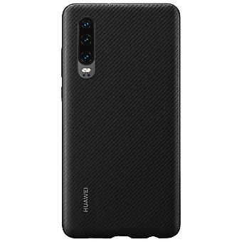 PU case black for Huawei P30 51992992 original silicone bag case protective shell