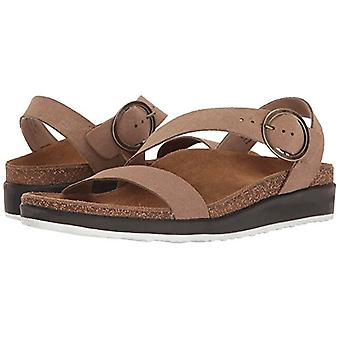 Aetrex Womens Adrianna Leather Open Toe Casual Strappy Sandals