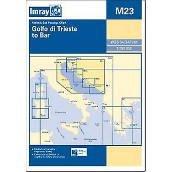 Imray Chart M23 - Adriatic Sea Passage Chart; Golfo Di Trieste to Bar