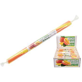 Packung mit 20 kleinen aromatisierten Rock Sticks - Mango