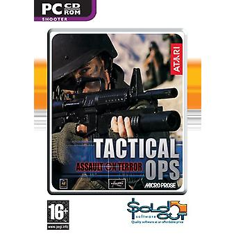 Tactical Ops Assault on Terror (PC CD) - As New