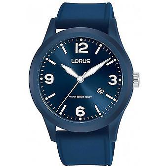 Lorus | Miesten Urban cool | Sininen kumi nauha | Sininen Dial | RH953LX9 Watch