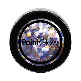 PaintGlow Chunky UV Holographic Glitter Mermaid Mist