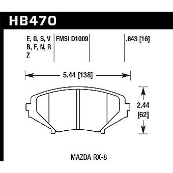 Hawk Performance HB470B. 643 HPS 5,0