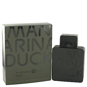 Mandarina duck black eau de toilette spray by mandarina duck 483485 100 ml
