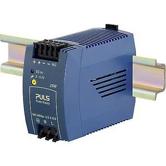 PULS MiniLine ML30.101 Rail mounted PSU (DIN) 5 V DC 5 A 25 W 1 x