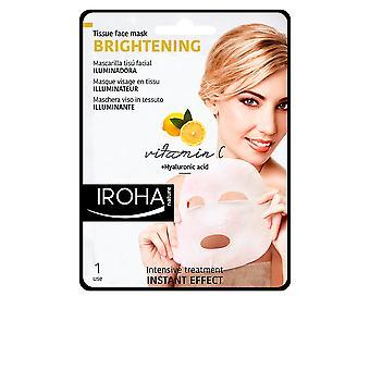 Iroha Tissue Mask Brightening Vitamin C + Ha 1 Use For Women