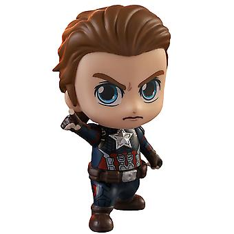 Avengers 4 Endgame Captain America Unmasked Cosbaby