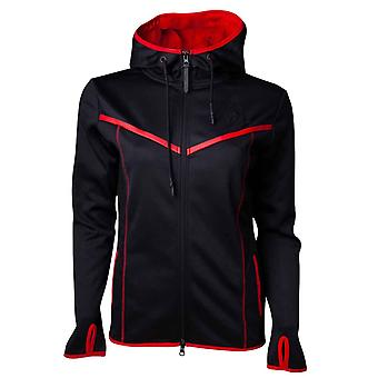Assassins Creed Odyssey Hoodie Technical Dark Logo new Official Womens Black