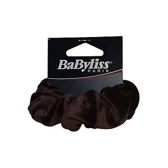 Babyliss Scrunchie Brown velur