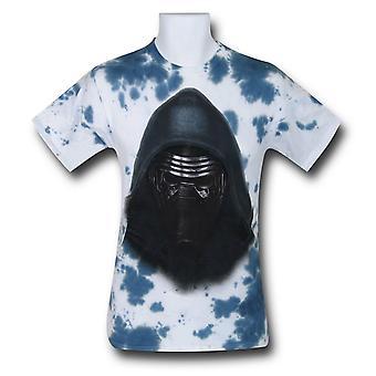 Camiseta Star Wars Kylo Ren Tie Dye Men's