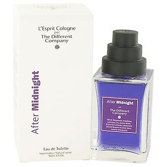 The Different Company After Midnight Eau de Toilette 100ml EDT Spray