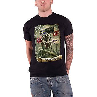 Avenged Sevenfold Scandinavia Official Herre ny sort T shirt