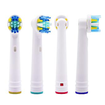 4x EB25-P Oral-B compatible toothbrush heads